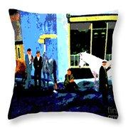 Irelandryans Throw Pillow