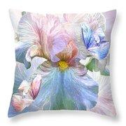 Iris - Goddess Of Serenity Throw Pillow