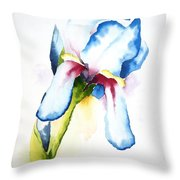 Iris II Throw Pillow