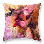 Iris IIi Throw Pillow