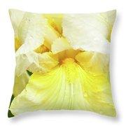 Iris Pride Of Ireland Throw Pillow