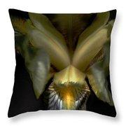 Iris Two Throw Pillow