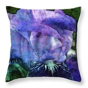 Iris With Buds 9821 Idp_2 Throw Pillow