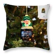 Irish Christmas 2 Throw Pillow