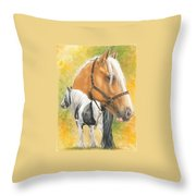 Irish Cob Throw Pillow