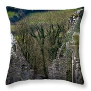 Irish History In The Countryside Throw Pillow