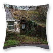 Irish Hovel Throw Pillow