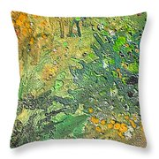 Irish Moos Throw Pillow