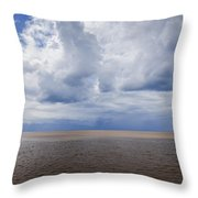 Irish Sea Throw Pillow