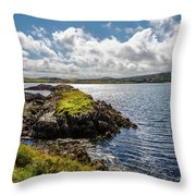 Irish Shore Throw Pillow