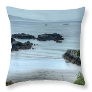 Irish Tidal Pool Throw Pillow