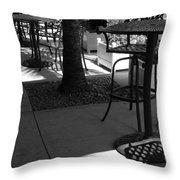 Irish Unbrella Throw Pillow