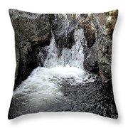 Irish Waterfall Throw Pillow