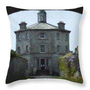 Irish Wisteria Lane Throw Pillow