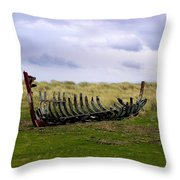 Irish Wreck Throw Pillow