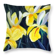 Irisis Throw Pillow