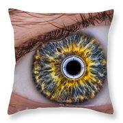 iRobot Eye v2.o Throw Pillow