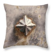Iron Art Throw Pillow