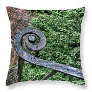 Iron Banister Throw Pillow