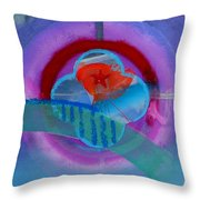 Iron Butterfly Throw Pillow