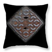 Iron Diamond Throw Pillow