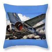 Iron Eagle Throw Pillow