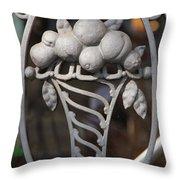 Iron Fruit Throw Pillow