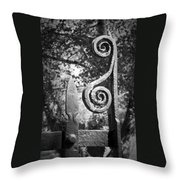 Iron Gate Detail County Clare Ireland Throw Pillow