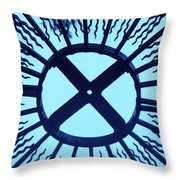 Iron Metal Frame Throw Pillow