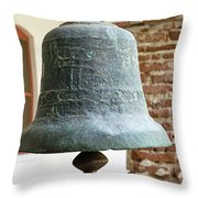 Iron Mission Bell Throw Pillow