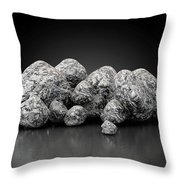 Iron Ore Nugget Collection Throw Pillow