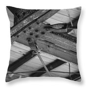 Iron Roof Throw Pillow