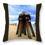 Iron Structure Throw Pillow