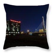 Iron Viaduct Throw Pillow