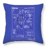 Ironman Patent Throw Pillow