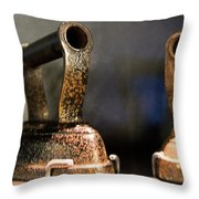 Irons From Early 1900s Australia Throw Pillow