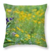 Ironweed Throw Pillow