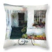 Iroquois On The Beach - Mackinac Island Michigan Throw Pillow