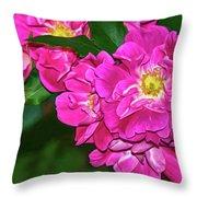 Irresistible Rose - Paint Throw Pillow