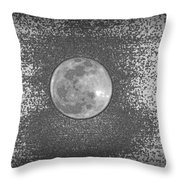 Is Anybody Out There Throw Pillow