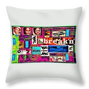 Is It Break Time? Throw Pillow