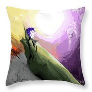 Is It My World Throw Pillow