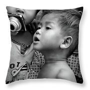 Is That Me Throw Pillow