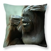 Is That My Nose Throw Pillow