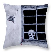 Is There Anybody Out There Throw Pillow