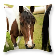 Is This My Best Side? Throw Pillow