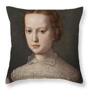 Isabella De Medici  Throw Pillow