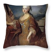 Isabella Louise Of Orleans. Queen Of Spain Throw Pillow