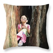 Isabella Of Kilkenny Throw Pillow