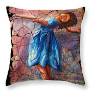 Isadora Duncan - 1 Throw Pillow
